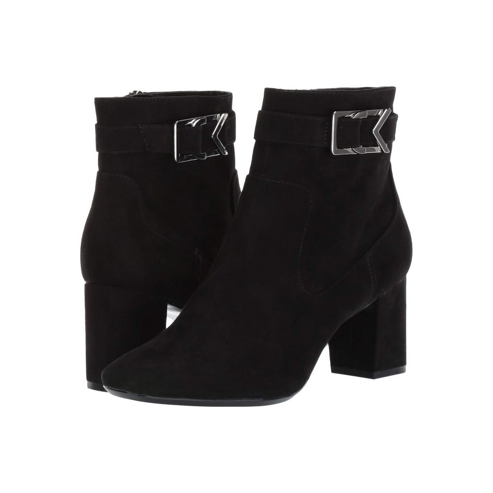 カルバンクライン Calvin Klein レディース ブーツ シューズ・靴【Callista】Black Microsuede
