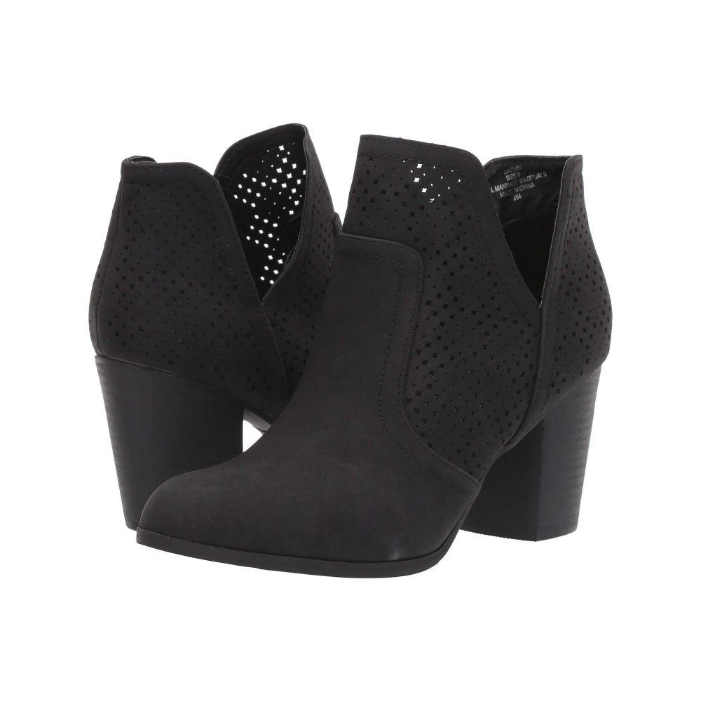 マッデン ガール Madden Girl レディース ブーツ シューズ・靴【Daphni】Black Paris