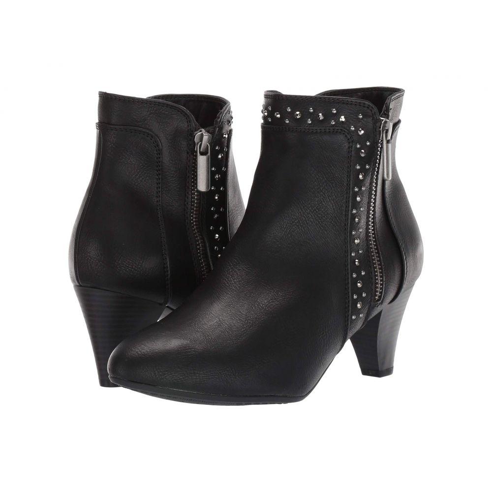 リアルト Rialto レディース ブーツ シューズ・靴【Strega】Black Smooth