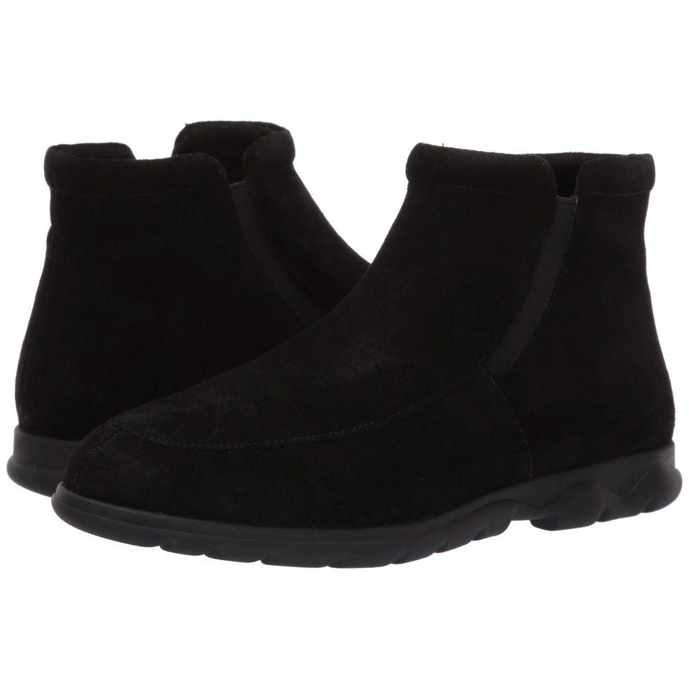ヴァネリ Vaneli レディース ブーツ シューズ・靴【Leeta】Black Nival Suede