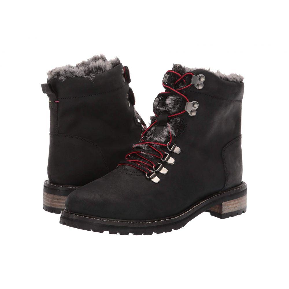 ジュールズ Joules レディース ブーツ シューズ・靴【Leather Hiker Boot】Black