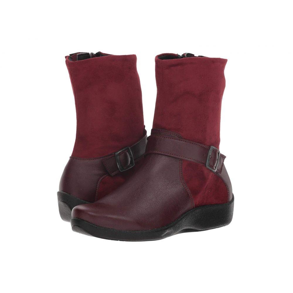 アルコペディコ Arcopedico レディース ブーツ シューズ・靴【Runa】Bordeaux