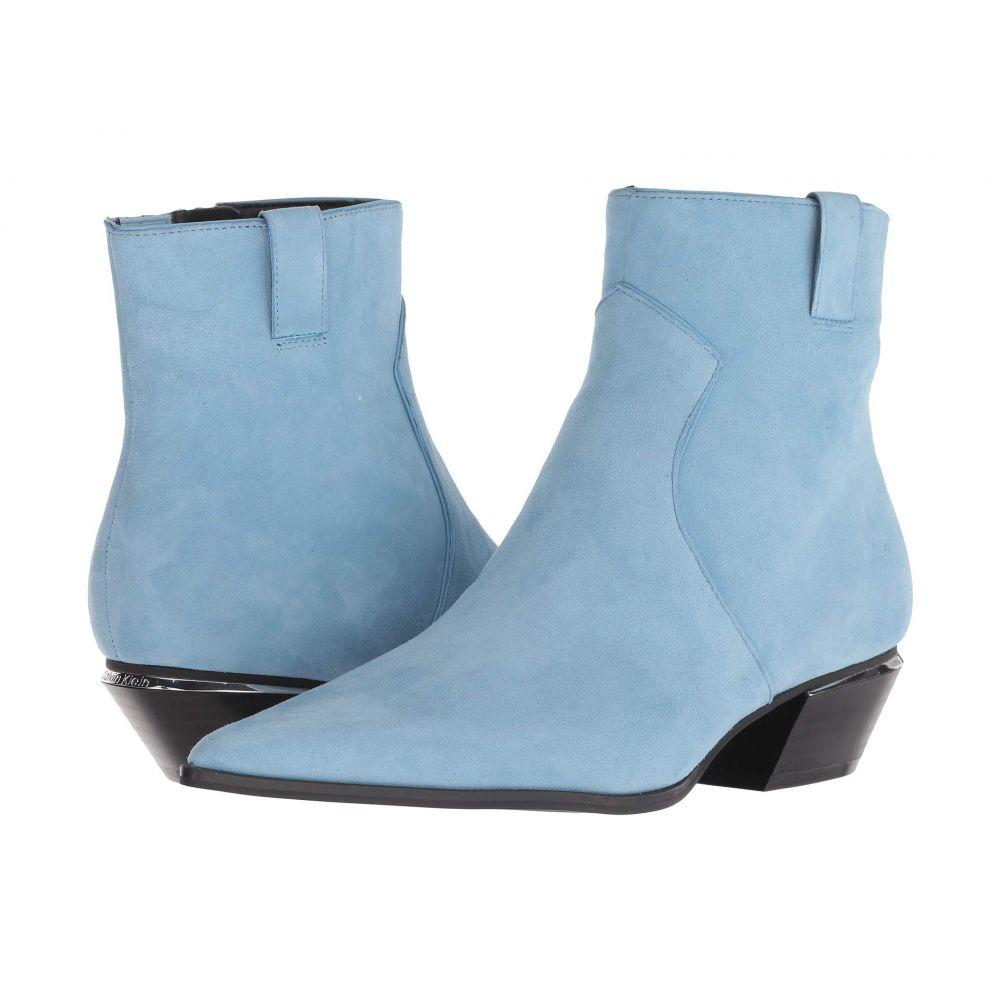 カルバンクライン Calvin Klein レディース ブーツ シューズ・靴【Nanuka】Dusty Blue Leather Suede