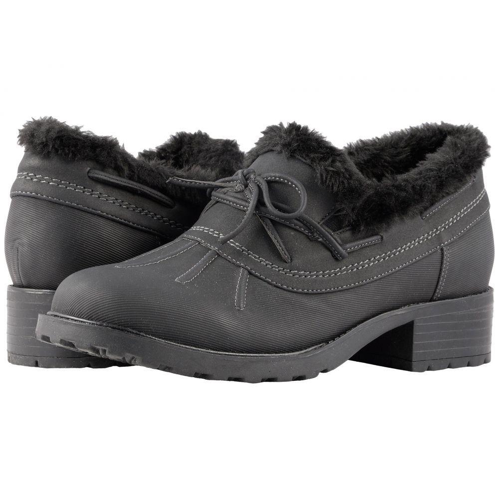 トロッターズ Trotters レディース ブーツ シューズ・靴【Brrr Waterproof】Black Rubberized Waterproof/Nubuck PU Waterproof/Faux Fur
