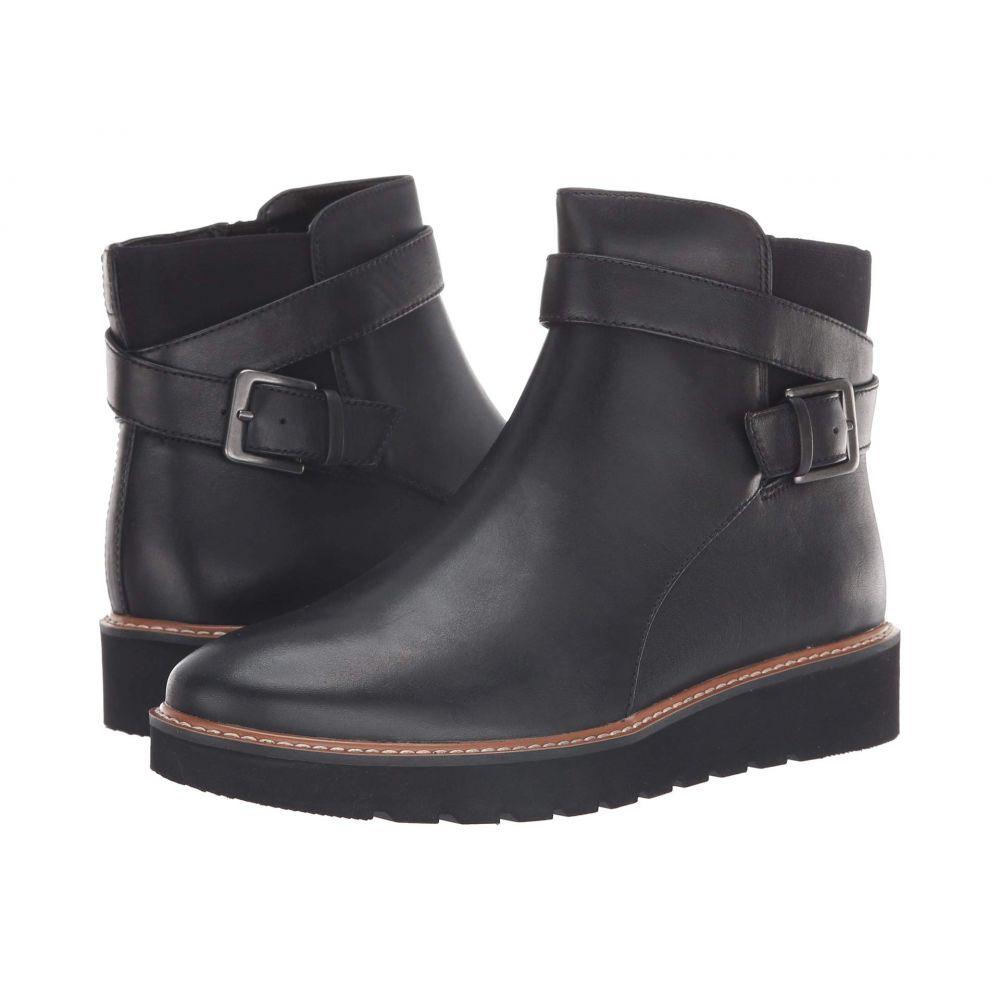 ナチュラライザー Naturalizer レディース ブーツ シューズ・靴【Aster】Black Leather