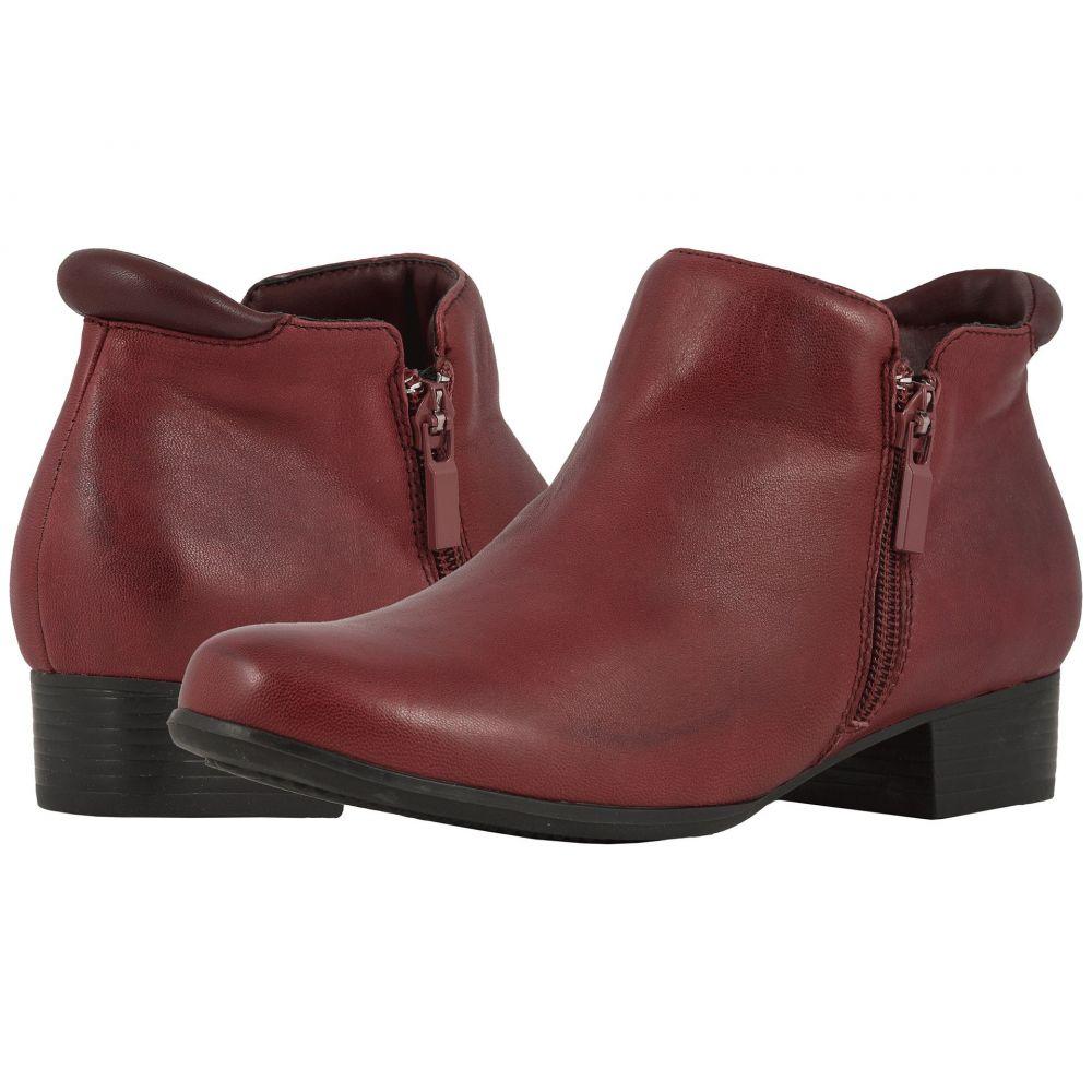 トロッターズ Trotters レディース ブーツ シューズ・靴【Major】Dark Red