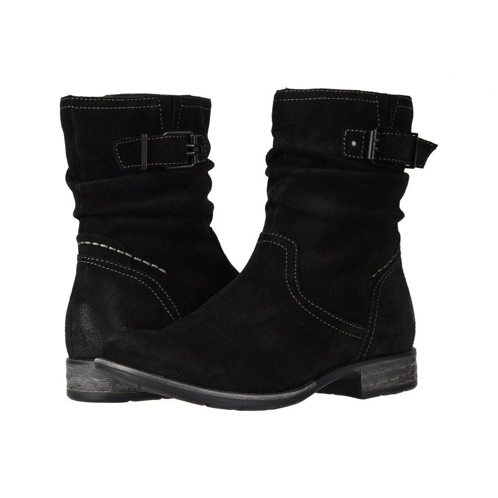 カルソーアースシューズ Earth レディース ブーツ シューズ・靴【Beaufort】Black Suede