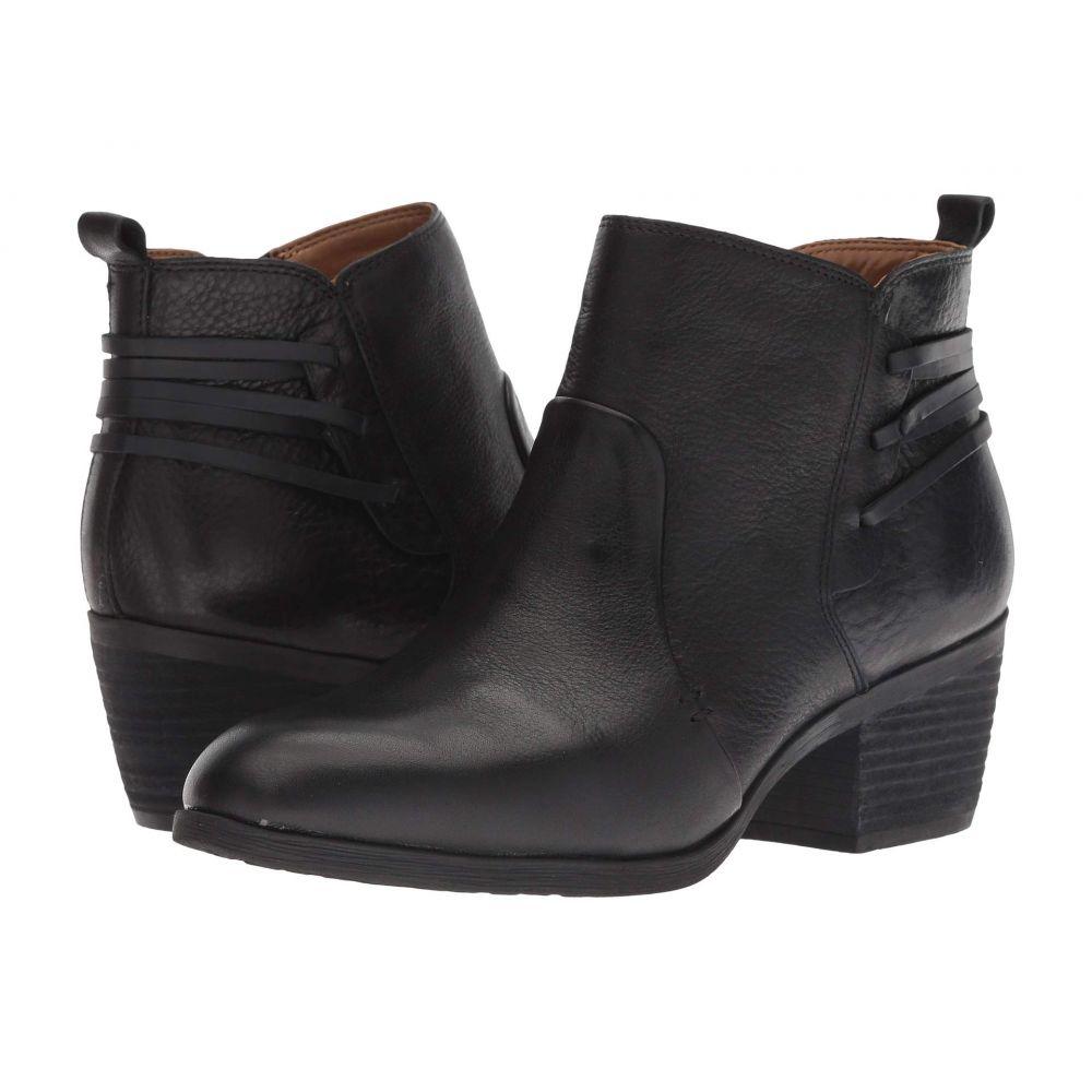 コンフォーティヴァ Comfortiva レディース ブーツ シューズ・靴【Kinsley】Black Wild Steer/Black Rodeo