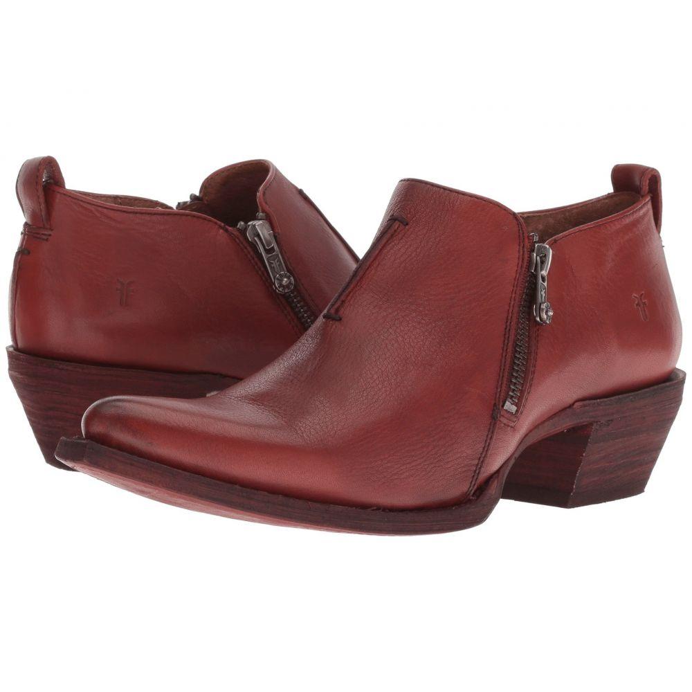 フライ Frye レディース ブーツ シューズ・靴【Sacha Zip Shootie】Red Clay Soft Full Grain