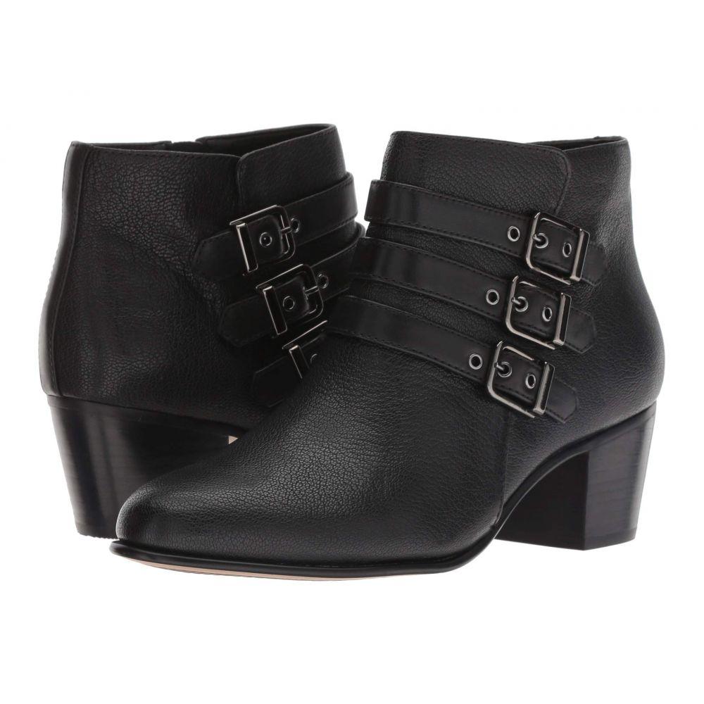 クラークス Clarks レディース ブーツ シューズ・靴【Maypearl Rayna】Black Tumbled Leather