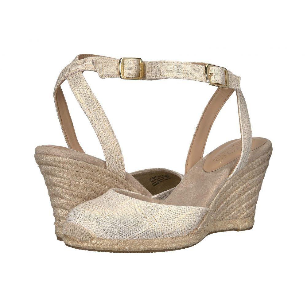 エアロソールズ Aerosoles レディース ヒール シューズ・靴【Martha Stewart Meadow】Natural Fabric