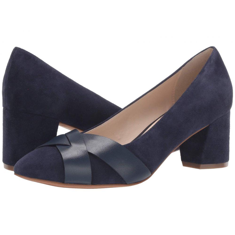 コールハーン Cole Haan レディース パンプス シューズ・靴【55 mm Carlee Pump】Marine Blue Suede/Leather