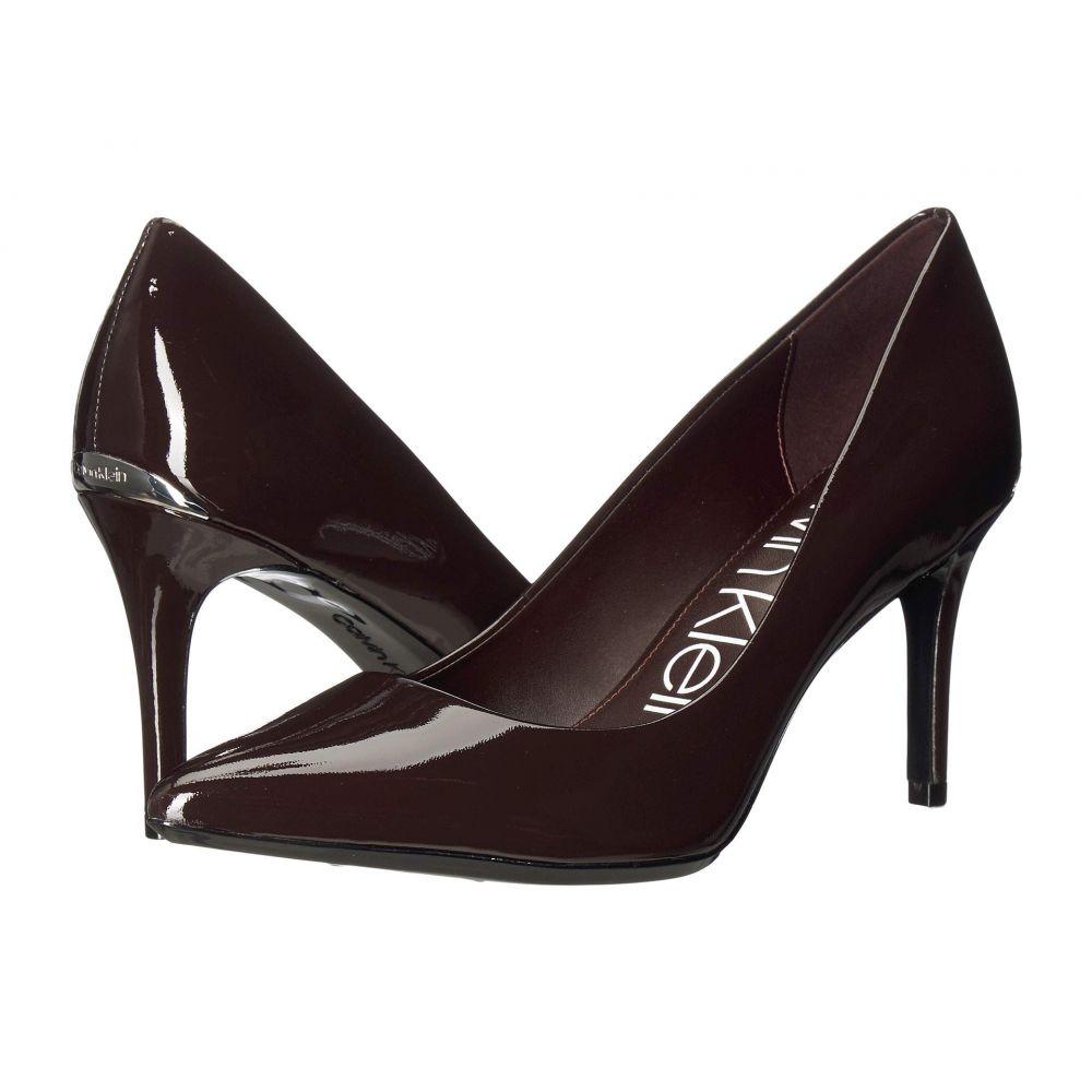 カルバンクライン Calvin Klein レディース パンプス シューズ・靴【Gayle Pump】Mahogany Patent