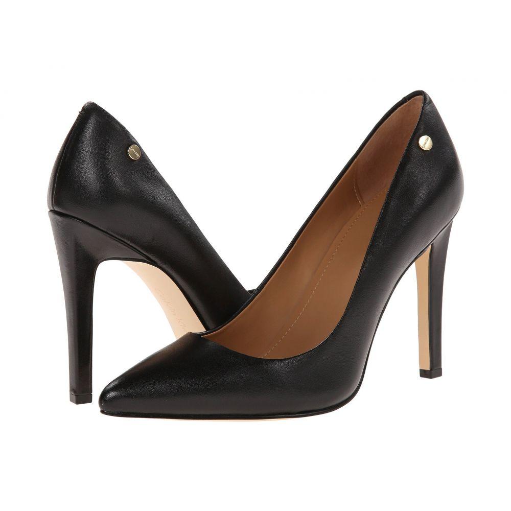 カルバンクライン Calvin Klein レディース パンプス シューズ・靴【Brady】Black Leather