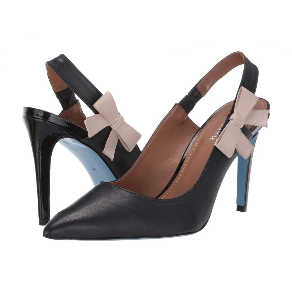 フレンチソール French Sole レディース パンプス シューズ・靴【Nicky Hilton - Brooke】Black Leather