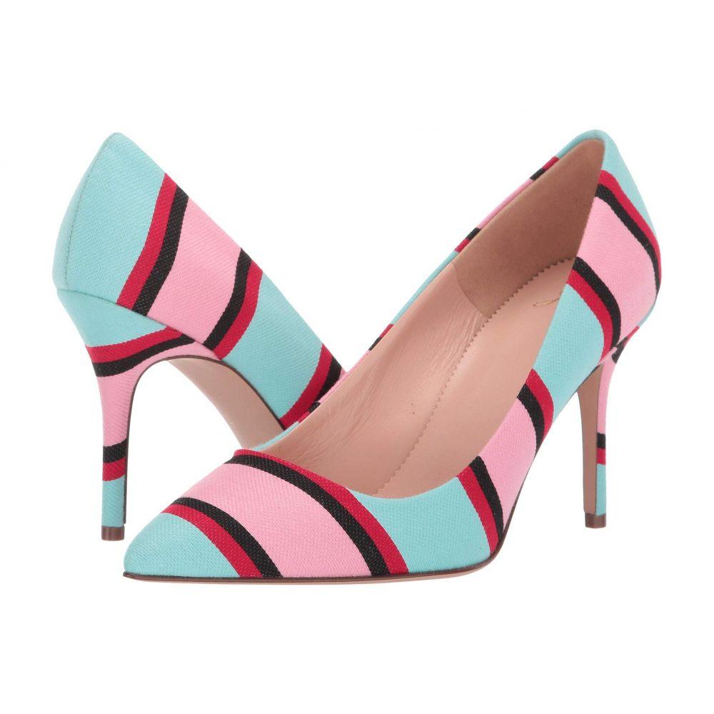ジェイクルー J.Crew レディース パンプス シューズ・靴【85 mm Elsie Pump in Stripe】Pink/Blue/Red