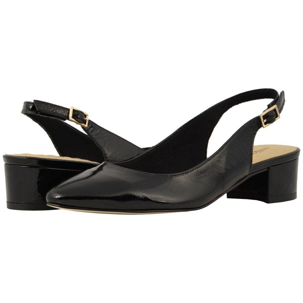ウォーキング クレードル Walking Cradles レディース パンプス シューズ・靴【Hazel】Black Tumbled Patent