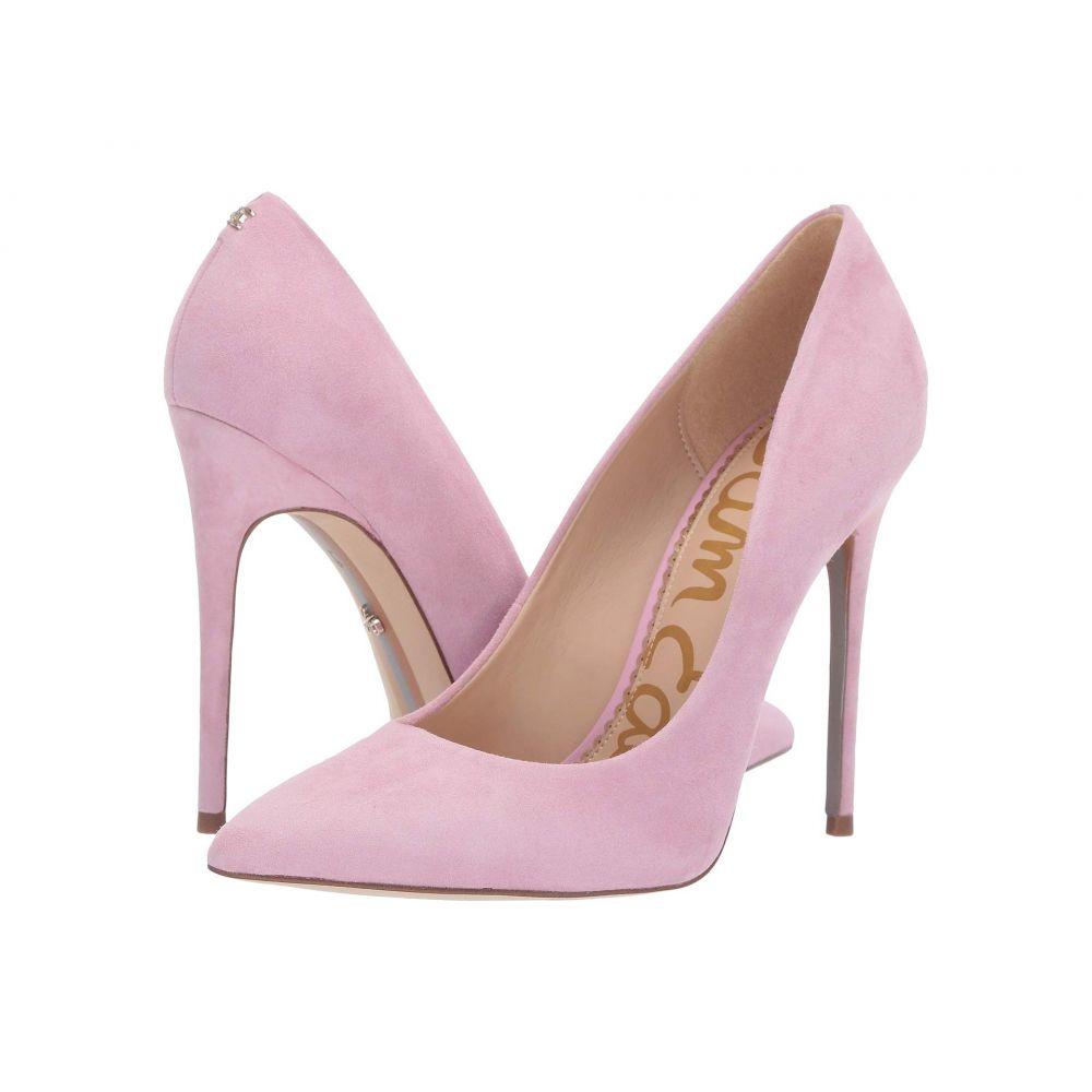 サム エデルマン Sam Edelman レディース パンプス シューズ・靴【Danna】Light Pink Orchid Suede Leather