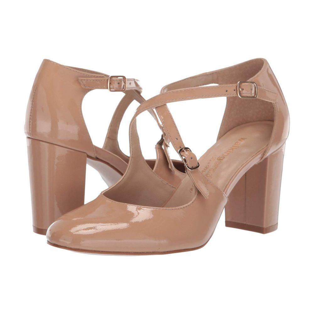 ウォーキング クレードル Walking Cradles レディース パンプス シューズ・靴【Mariah】Nude Patent Leather