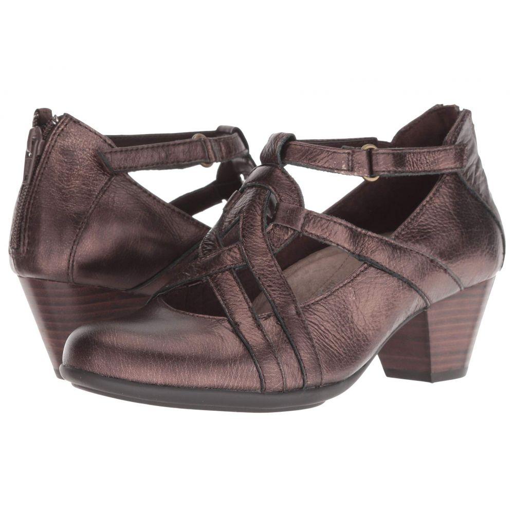 カルソーアースシューズ Earth レディース パンプス シューズ・靴【Virtue】Bronze Santos Medium Tipping Metallic Leather