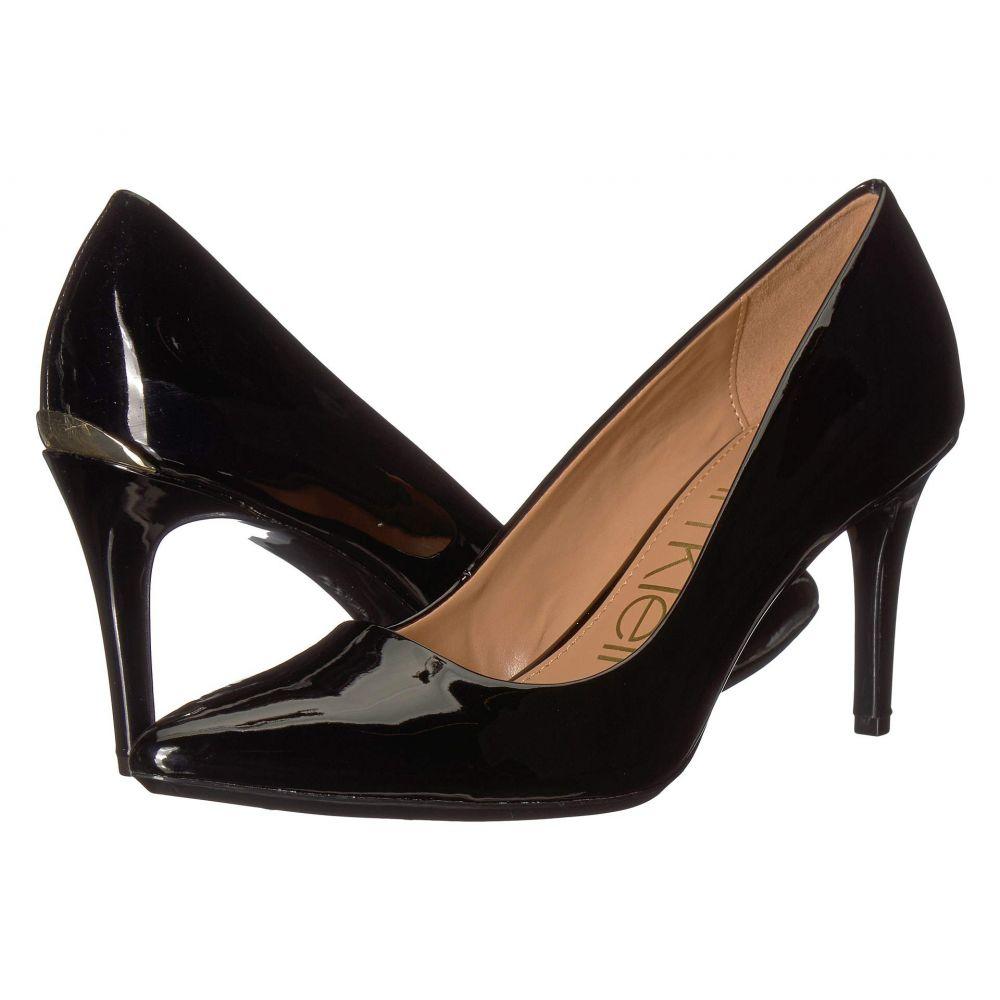 カルバンクライン Calvin Klein レディース パンプス シューズ・靴【Kamara】Black Patent Smooth