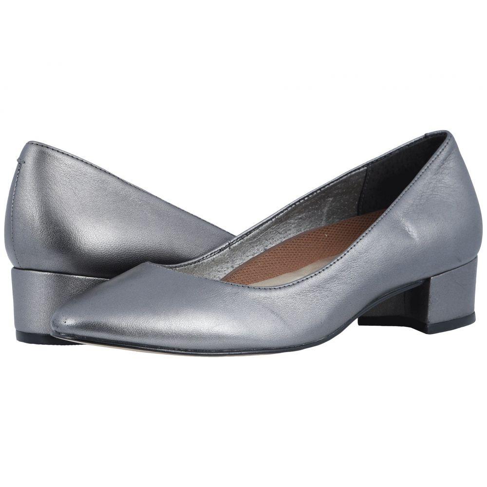 ウォーキング クレードル Walking Cradles レディース パンプス シューズ・靴【Heidi】Dark Silver Metallic Leather