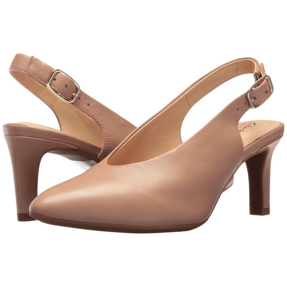 クラークス Clarks レディース パンプス シューズ・靴【Calla Violet】Beige Leather