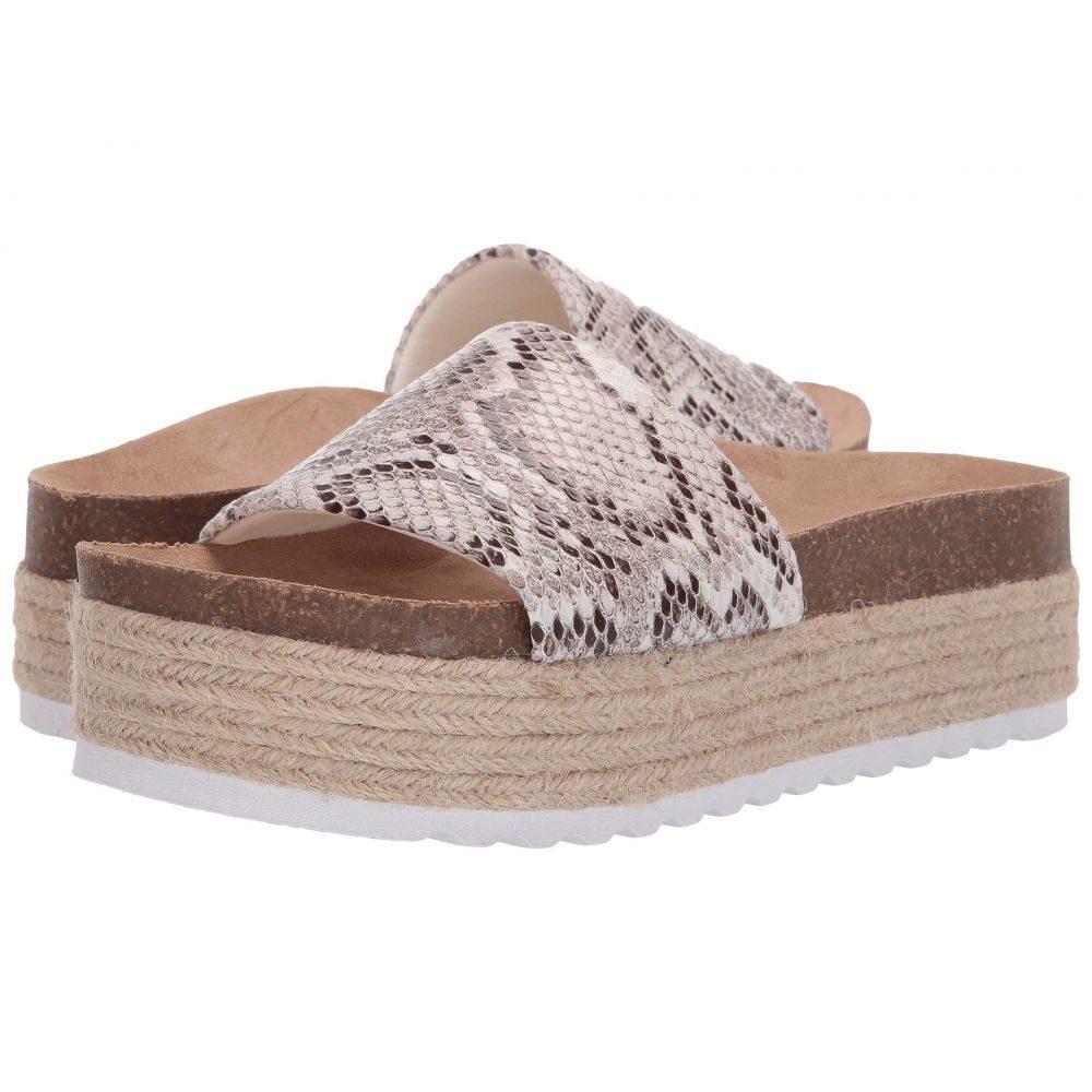 ダーティーランドリー Dirty Laundry レディース サンダル・ミュール シューズ・靴【Pippa Platform Sandal】White Snake