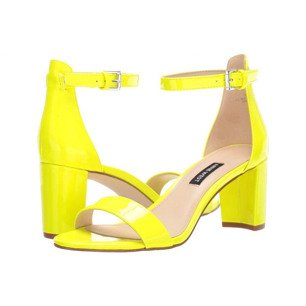ナインウェスト Nine West レディース サンダル・ミュール シューズ・靴【Pruce Block Heel Sandal】Neon Yellow