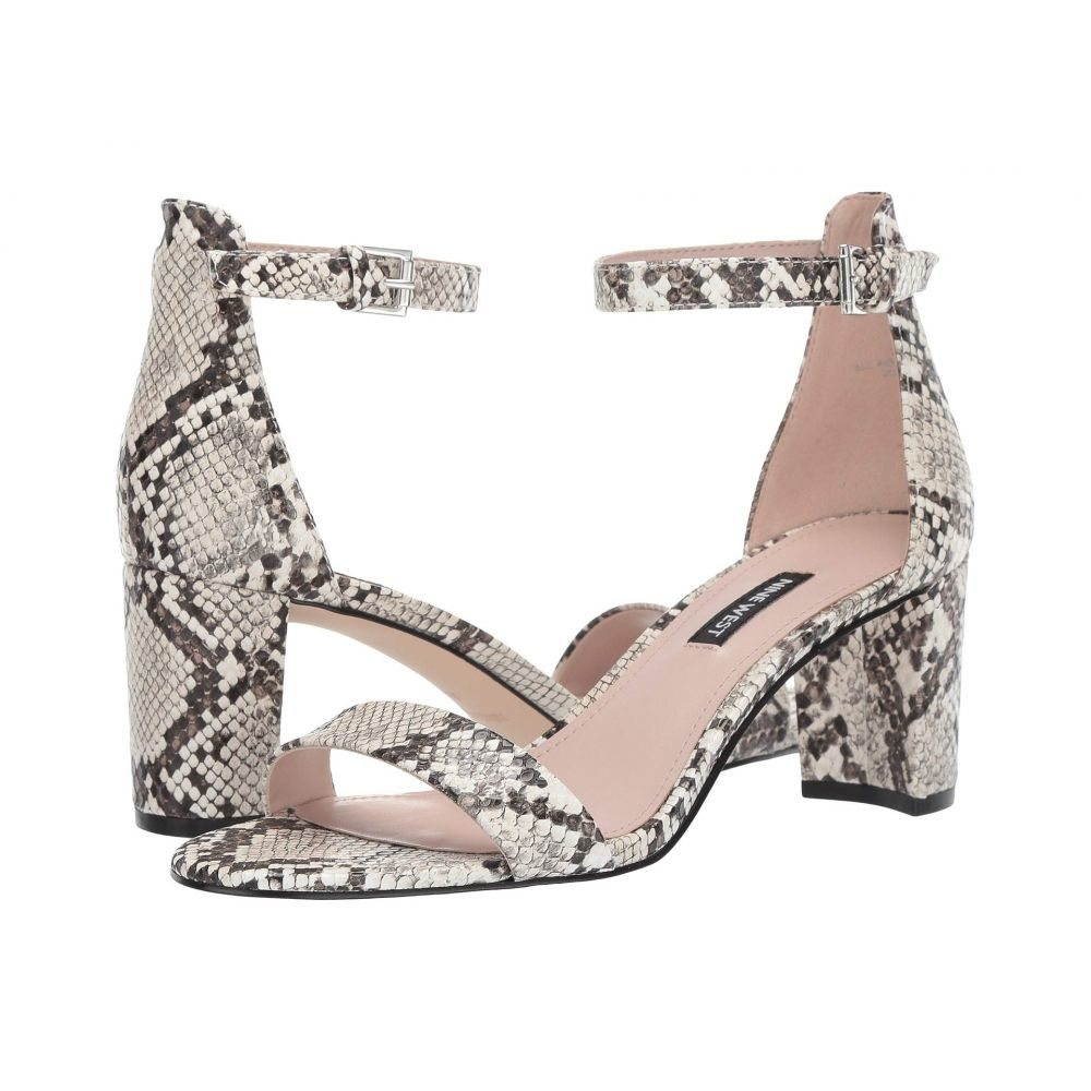 ナインウェスト Nine West レディース サンダル・ミュール シューズ・靴【Pruce Block Heel Sandal】Ivory Multi