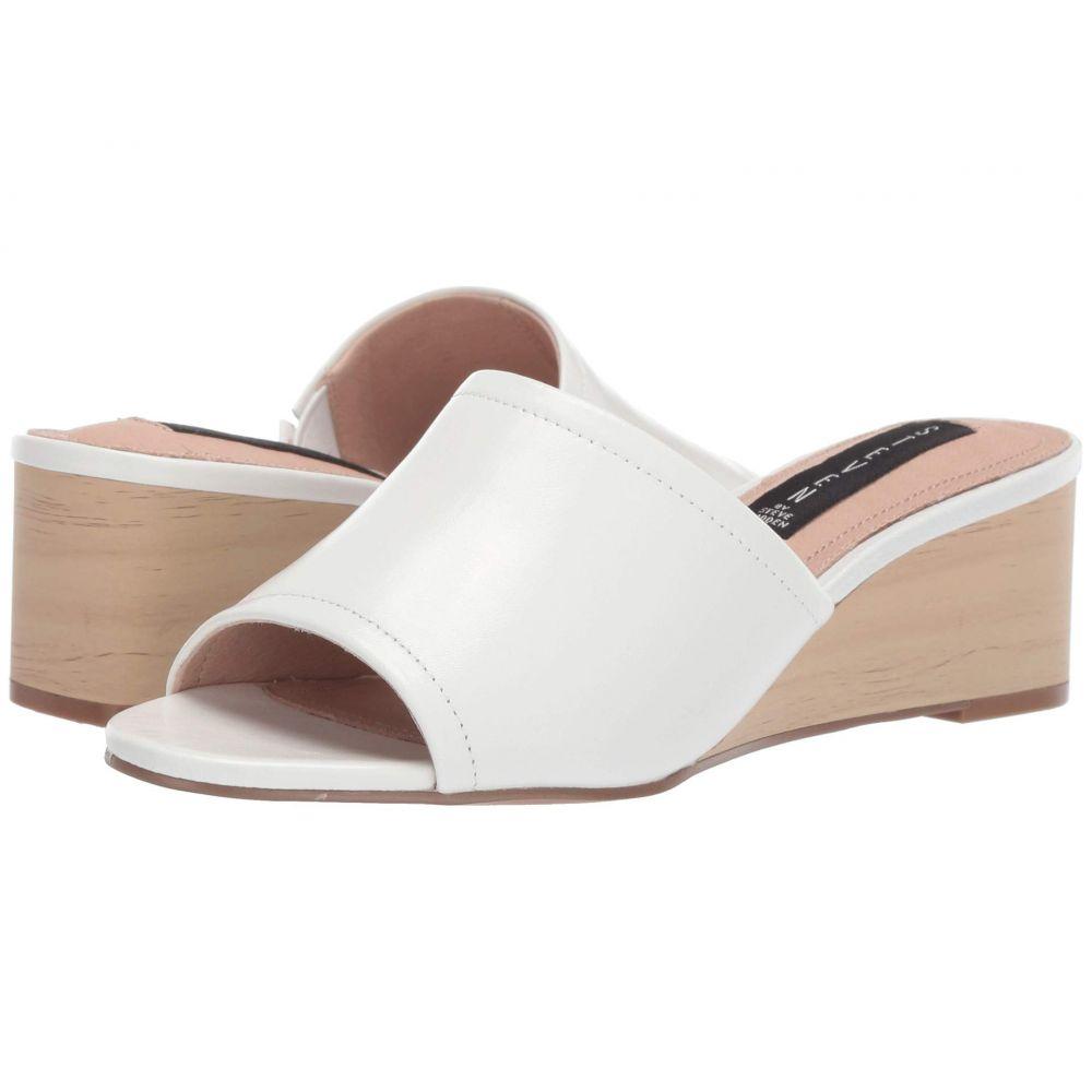 スティーブン Steven レディース サンダル・ミュール ウェッジソール シューズ・靴【Lemur Wedge Sandal】White Leather
