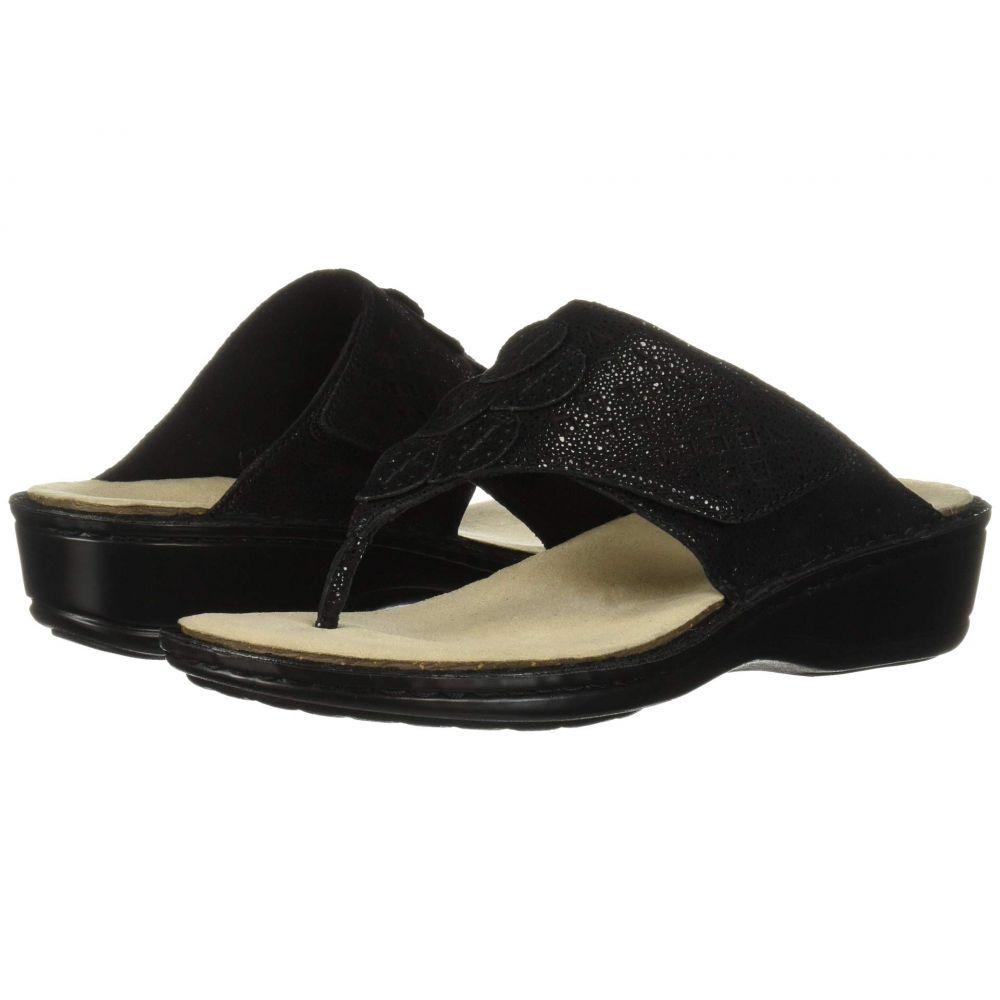 アラヴォン Aravon レディース サンダル・ミュール シューズ・靴【Cambridge Thong】Black