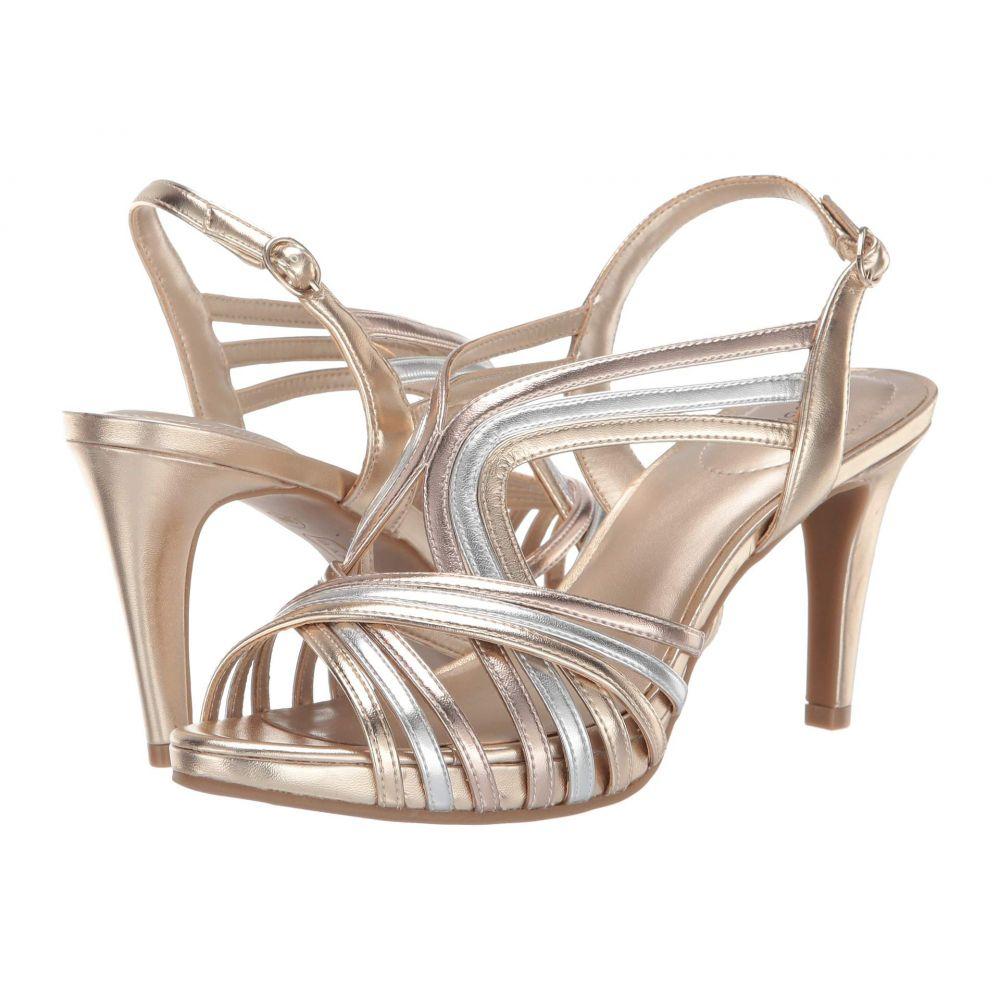 バンドリーノ Bandolino レディース サンダル・ミュール シューズ・靴【Raakel Heeled Sandal】Gold/Silver/Rose