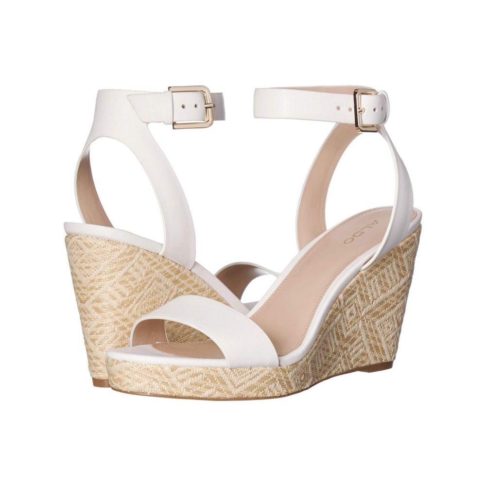 アルド ALDO レディース サンダル・ミュール シューズ・靴【Unaliviel】White