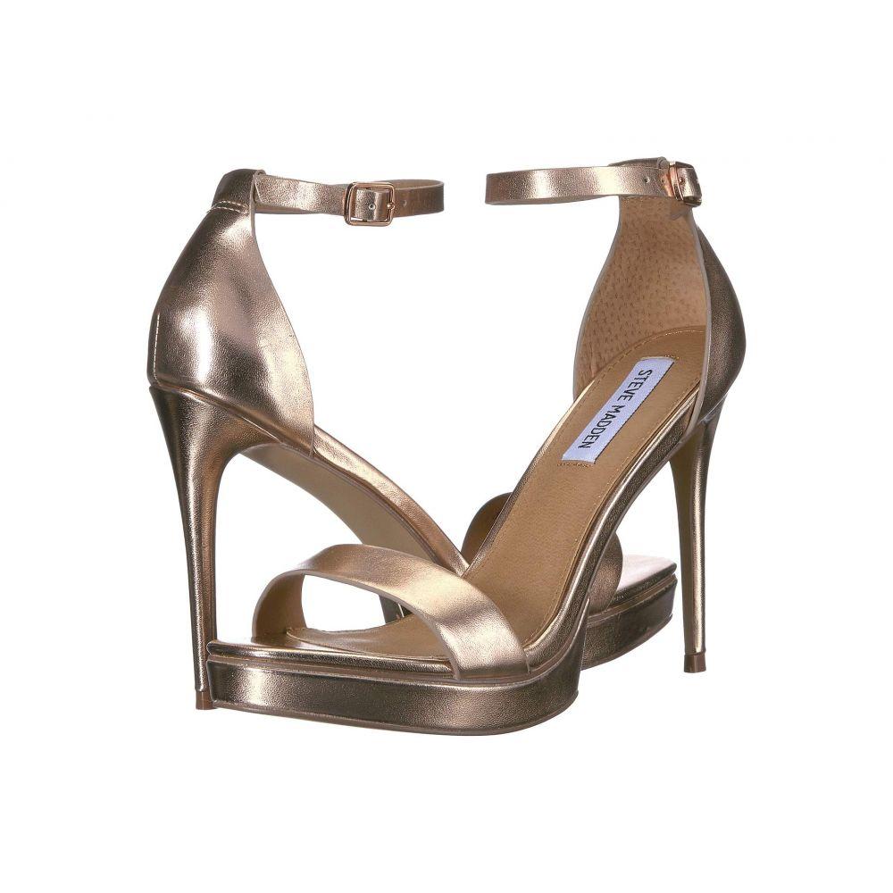 スティーブ マデン Steve Madden レディース サンダル・ミュール シューズ・靴【Cabaret Platform Sandal】Rose Gold