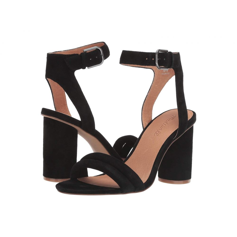 メイドウェル Madewell レディース サンダル・ミュール シューズ・靴【The Rosalie High-Heel Sandal】True Black