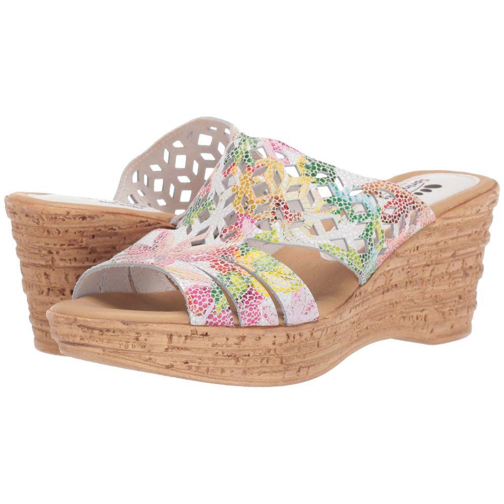 スプリングステップ Spring Step レディース サンダル・ミュール シューズ・靴【Viniko】White