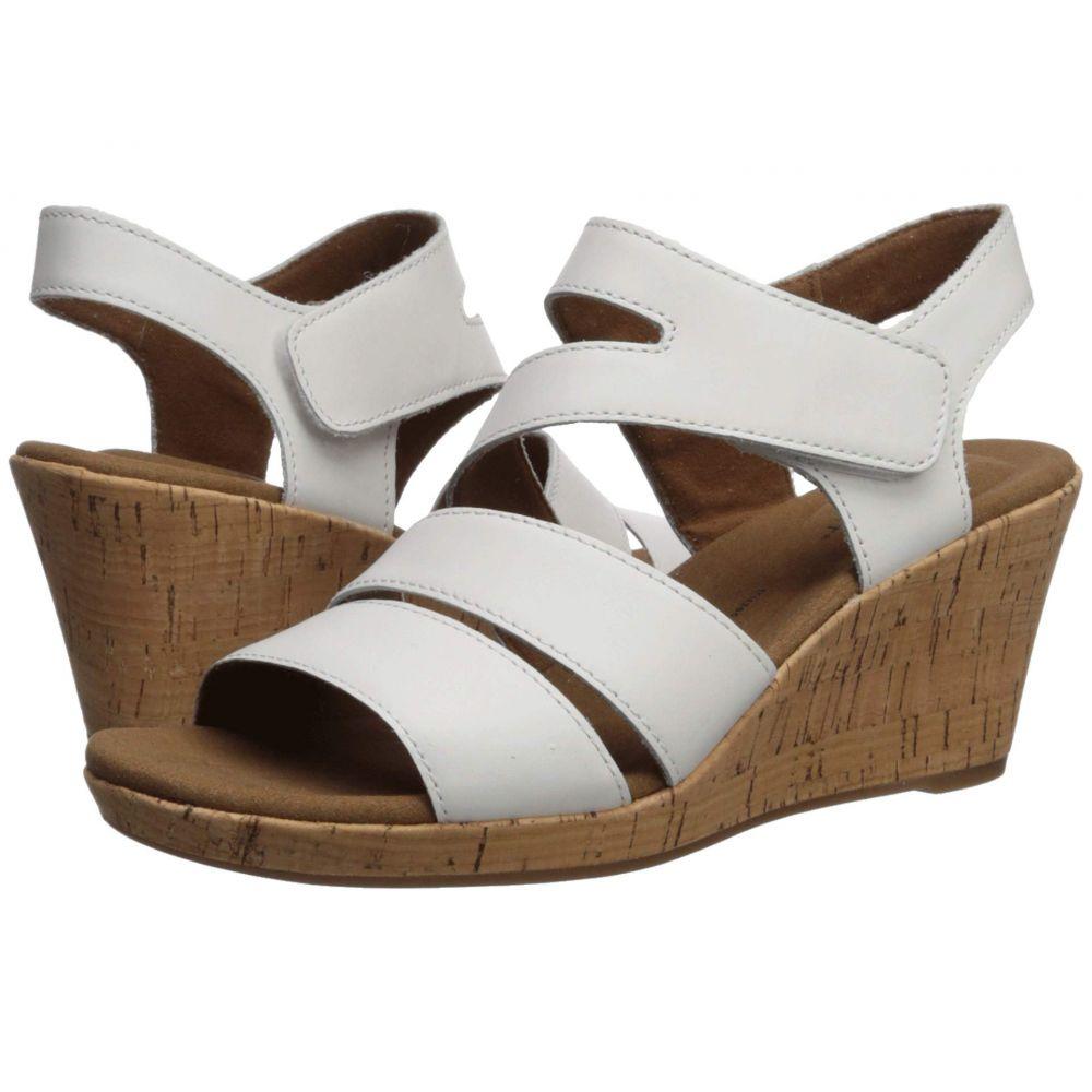 ロックポート Rockport レディース サンダル・ミュール シューズ・靴【Briah Asym】White
