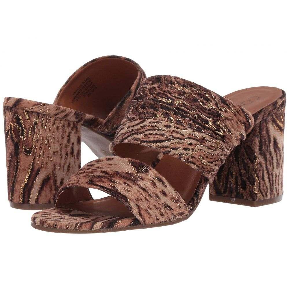マチス Matisse レディース サンダル・ミュール シューズ・靴【Radience Block Heel Mule】Tan Stripe Microfiber