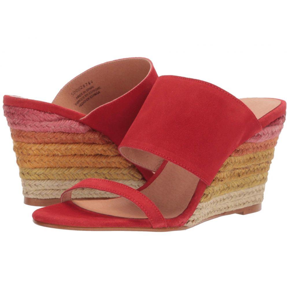フリーピープル Free People レディース サンダル・ミュール ウェッジソール シューズ・靴【Glorieta Wedge】Red