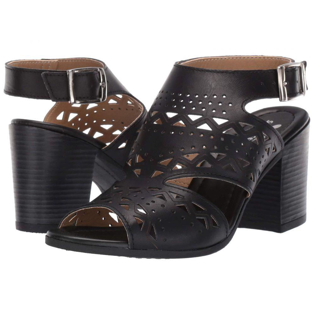スプリングステップ Spring Step レディース サンダル・ミュール シューズ・靴【Rosemarie】Black