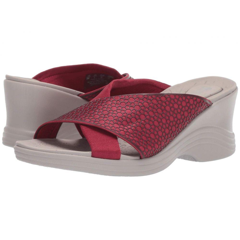 ゼィース Bzees レディース サンダル・ミュール シューズ・靴【Harmony】Scarlet Red D Fabric