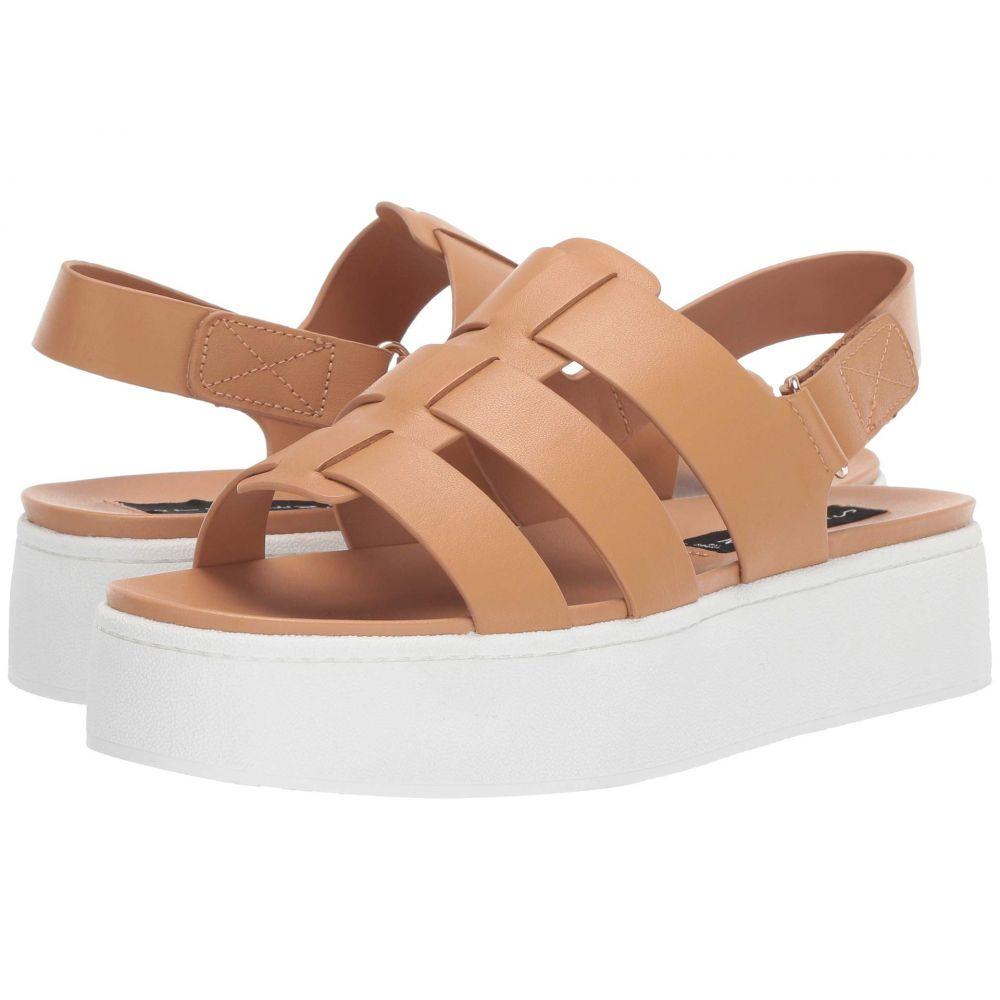 スティーブン Steven レディース サンダル・ミュール ウェッジソール シューズ・靴【Ginny Wedge Sandal】Tan Leather