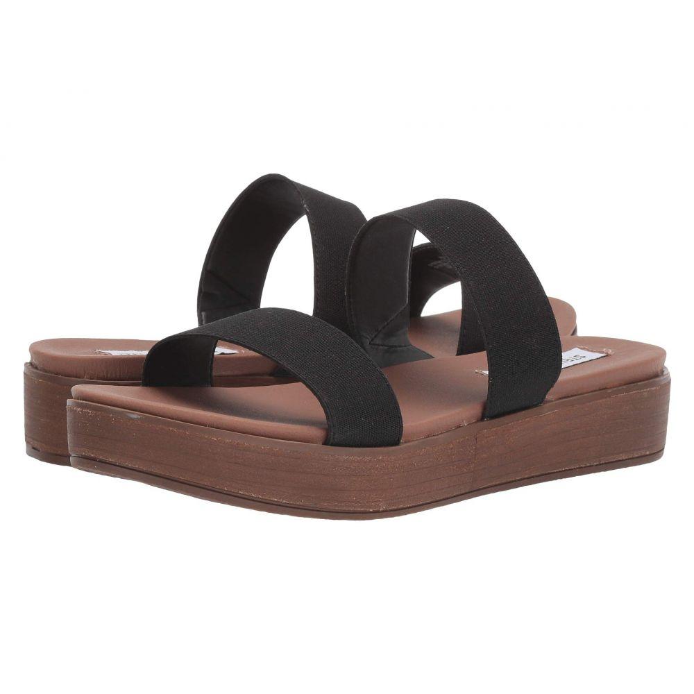 スティーブ マデン Steve Madden レディース サンダル・ミュール シューズ・靴【Pilav】Black:フェルマート