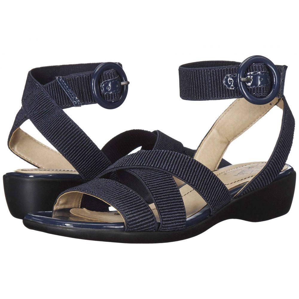 ライフストライド LifeStride レディース サンダル・ミュール シューズ・靴【Temple】Lux Navy Gore/Patent