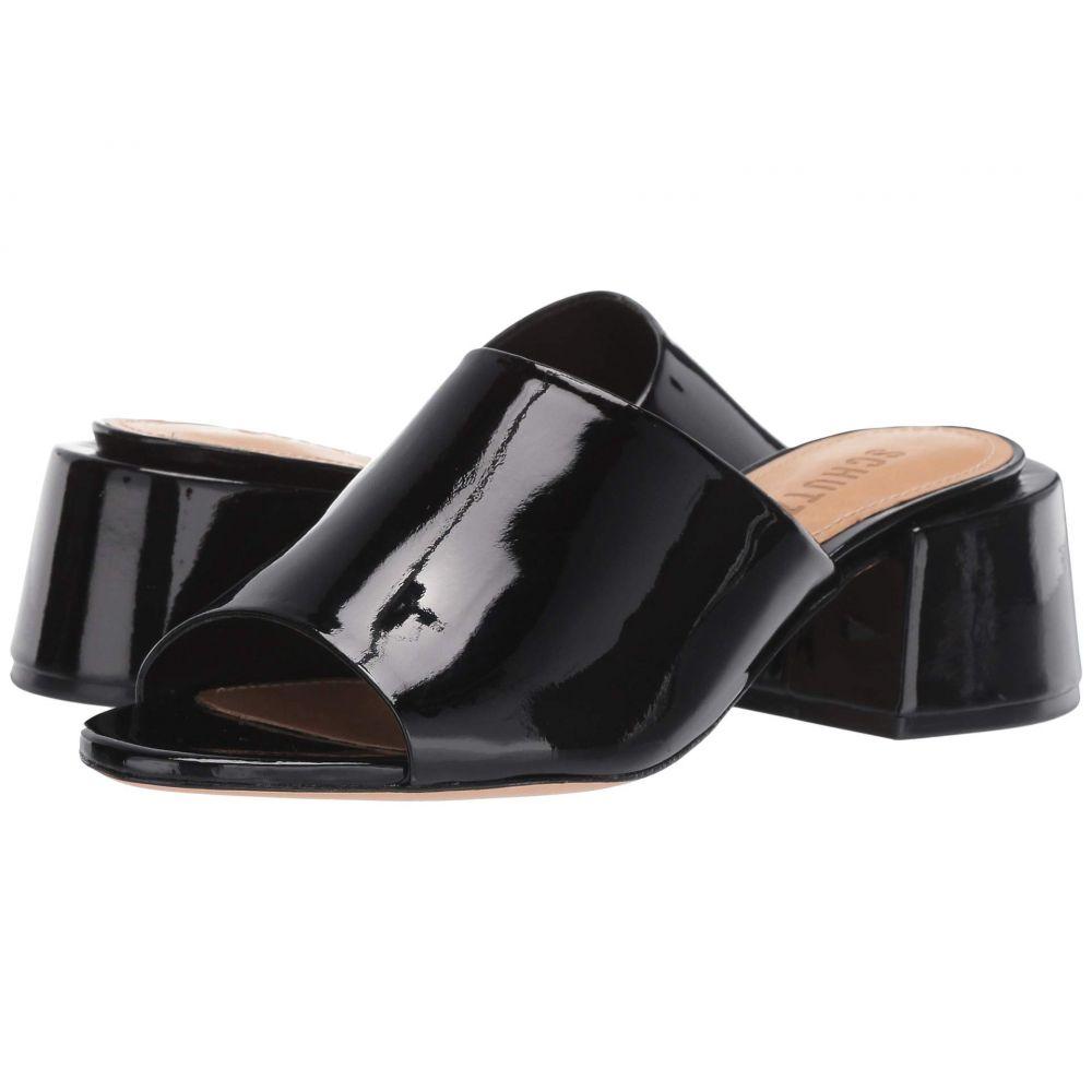シュッツ Schutz レディース サンダル・ミュール シューズ・靴【Ciana】Black Verniz