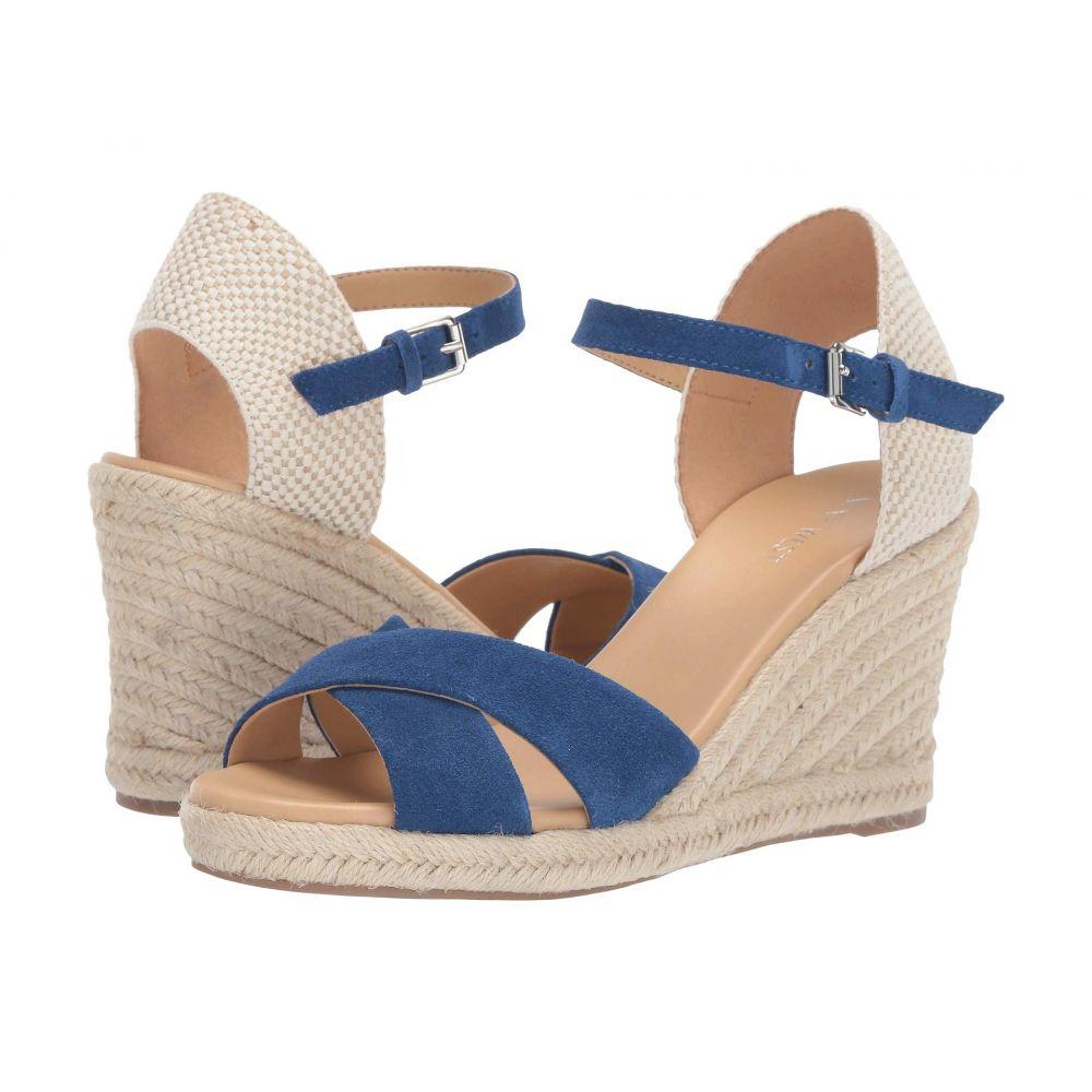 ナインウェスト Nine West レディース エスパドリーユ ウェッジソール サンダル・ミュール シューズ・靴【Joydyn Espadrille Wedge Sandal】Blue