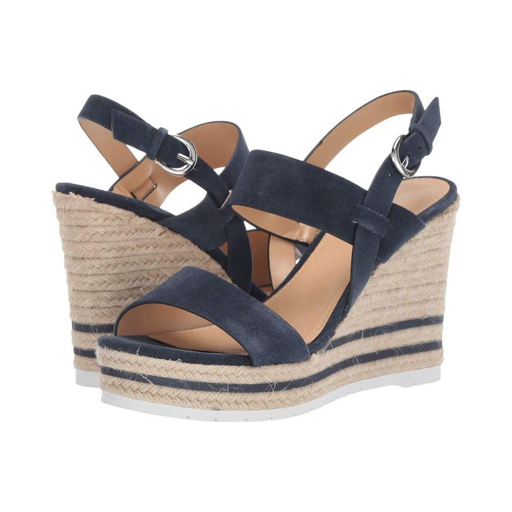 ナインウェスト Nine West レディース サンダル・ミュール ウェッジソール シューズ・靴【Alivia Wedge Sandal】Dark Blue
