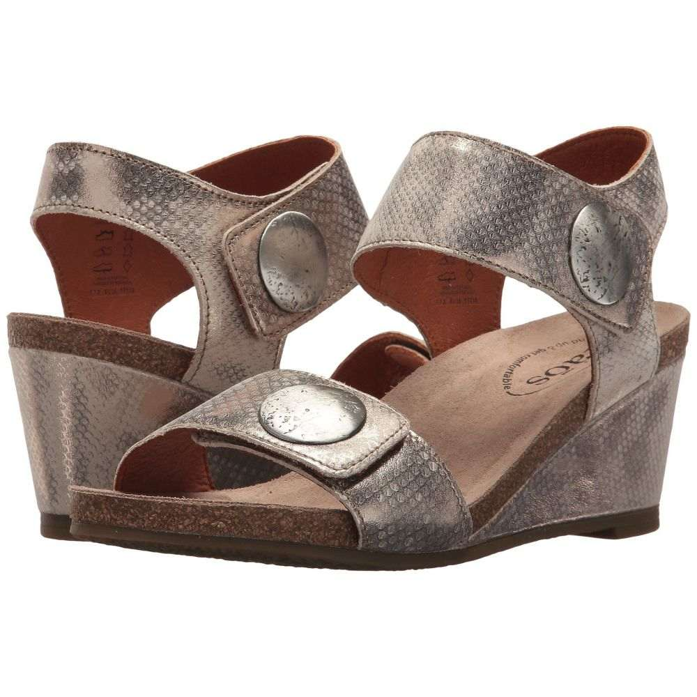 タオス Taos Footwear レディース サンダル・ミュール シューズ・靴【Carousel 2】Silver