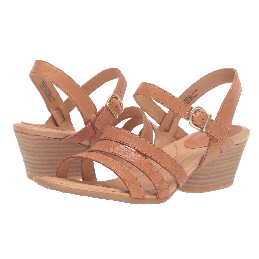 ボーン Born レディース サンダル・ミュール シューズ・靴【LaSal】Light Brown Full Grain Leather